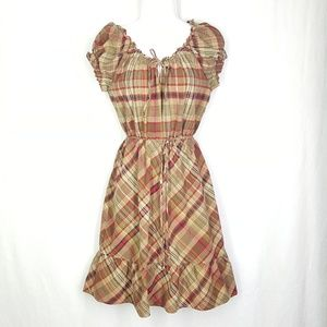 Converse plaid dress, size Large, women's dress.